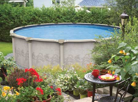 Above Ground Pools at Arthur Edwards, Miller Place, Long Island